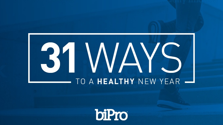 Sign up for 31 Ways to a Healthy New Year